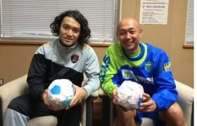小宮山選手と久光選手